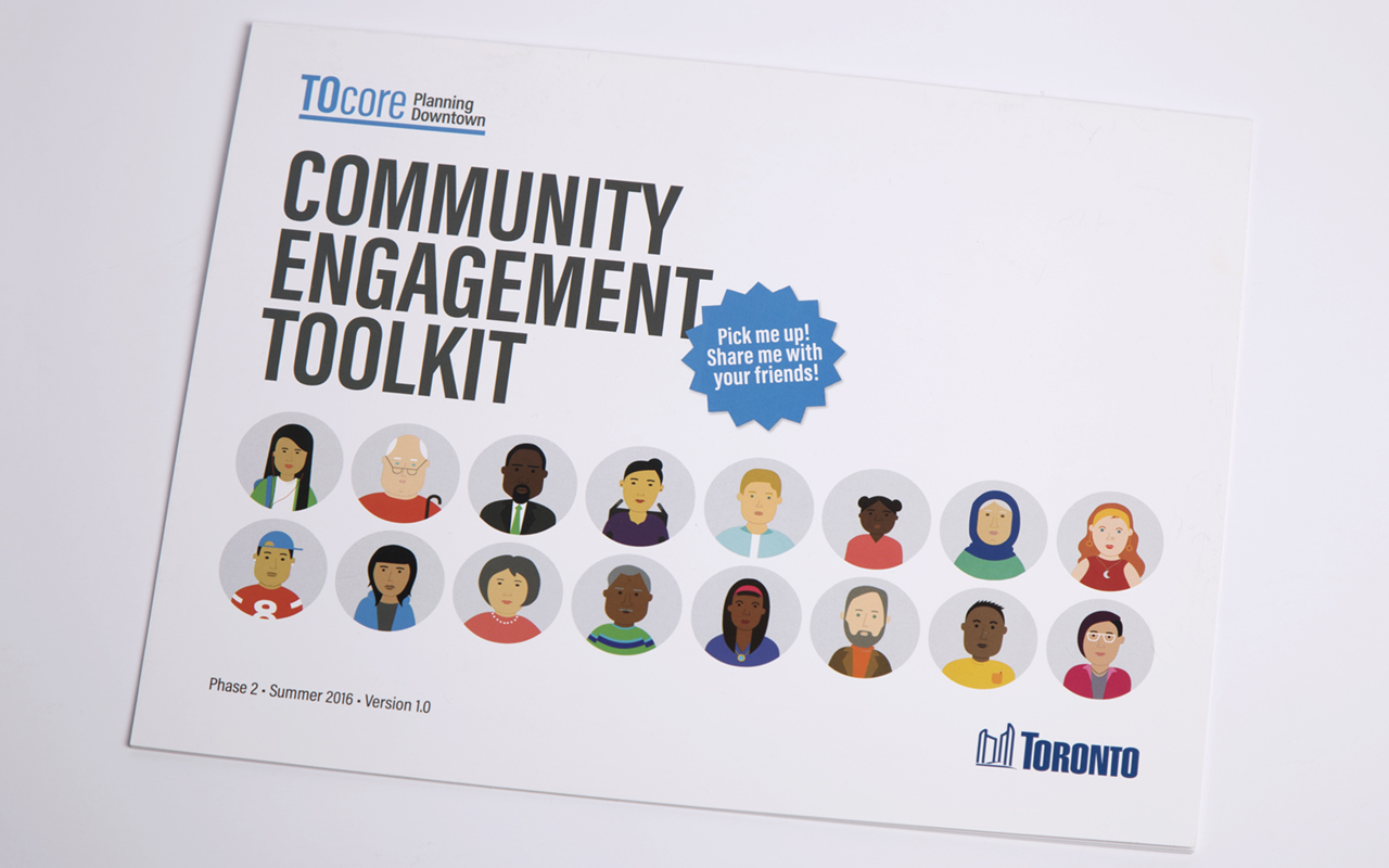 Cover of the TOcore Community Engagement Toolkit.