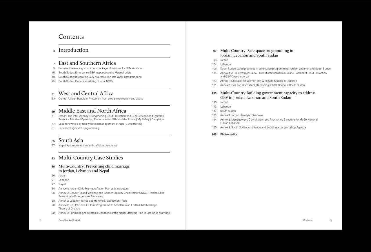 UNICEF Gender-Based Violence in Emergencies Resource Pack